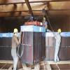 SCR脱硝设备:催化剂安装