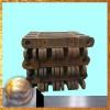 挖沙船高锰钢铸造链板条