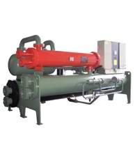 热回收满液式螺杆冷水机